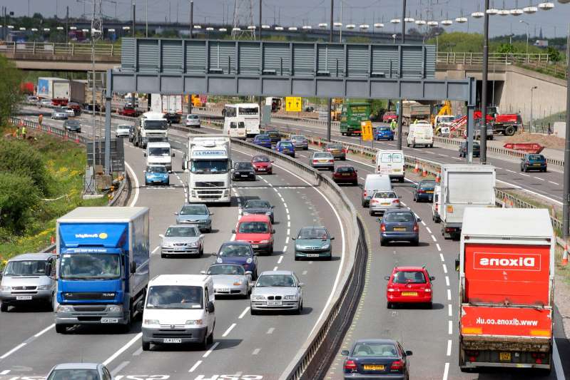 a car driving down a busy highway: Simon Turner/Construction Photography/Avalon/Getty Images