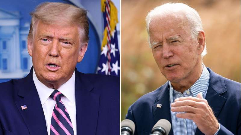 Joe Biden, Donald Trump are posing for a picture: Young voters backing Biden by 2:1 margin: poll