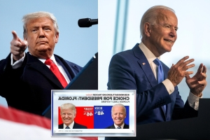 Trump manages to close gap between Biden to just two points in Florida
