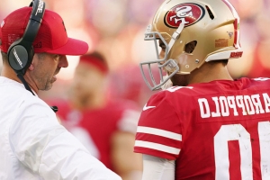 49ers' Garoppolo has chance to play vs. Giants, Mostert likely out