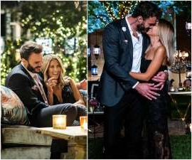 a group of people sitting in a chair talking on a cell phone: As soon as The Bachelor Australia 2020 premiered, fans had one question, does Irena win the whole thing? All the clues we've seen so far seem to suggest as much.