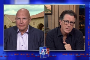 Stephen Colbert Goads H.R. McMaster Into Attacking Trump