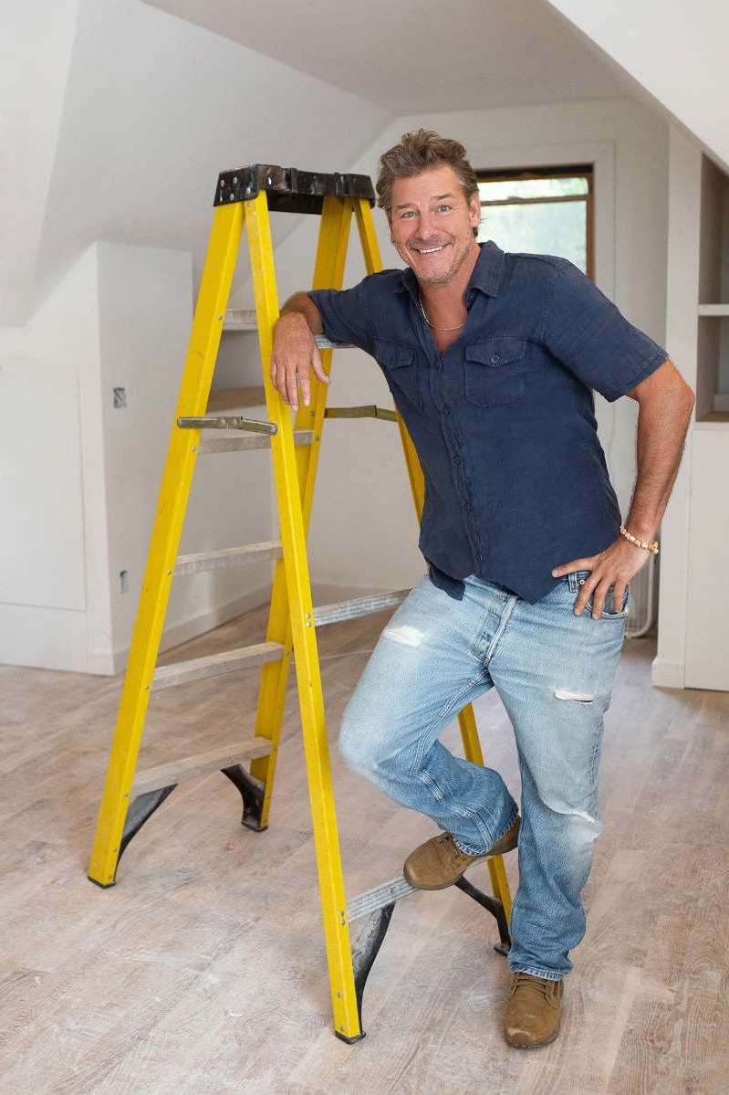Ty Pennington standing in a room: ty-pennington-ty-breaker-hgtv