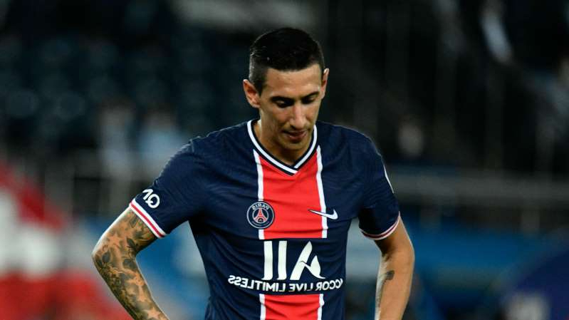 a man in a baseball uniform throwing a ball: Angel Di Maria has been suspended