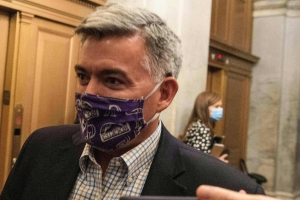 Colorado Sen. Cory Gardner received $24,000 in PAC donations from a meatpacking corporation. He's largely remained quiet about the company's record-setting coronavirus outbreak.