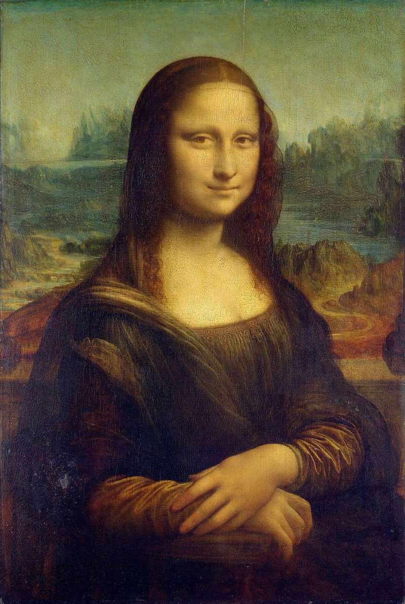 Mona Lisa sitting on a couch: You can blame the famous Mona Lisa painting by Leonardo da Vinci for the Da Vinky meme. The Louvre Museum
