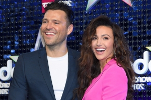 Mark Wright melts hearts as he cuddles up to newborn baby