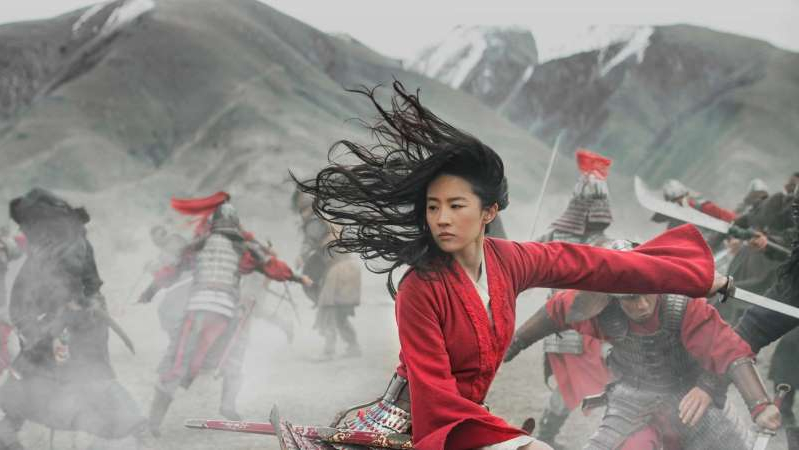 a little boy that is standing in the snow: Disney released Mulan after many COVID-related delays and calls to boycott the film. (Supplied: Disney+)