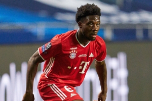 Bundesliga: Alphonso Davies got a basket from McDonald's