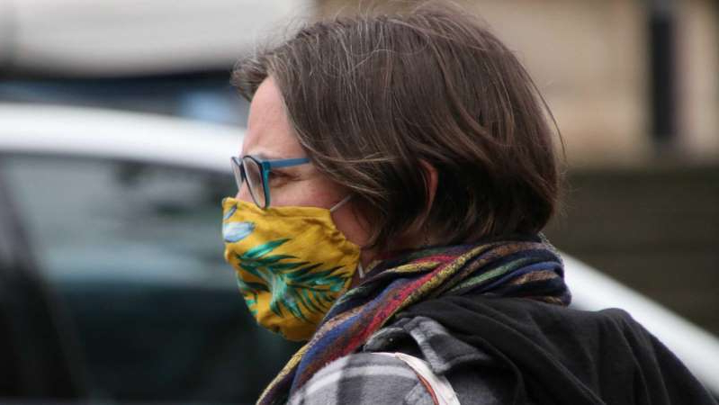 Masks in public will remain mandatory for some time yet. (ABC News)