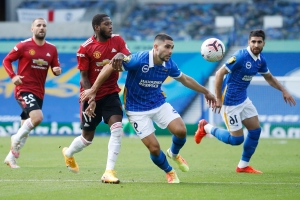 United earn dramatic win at Brighton with late Fernandes penalty