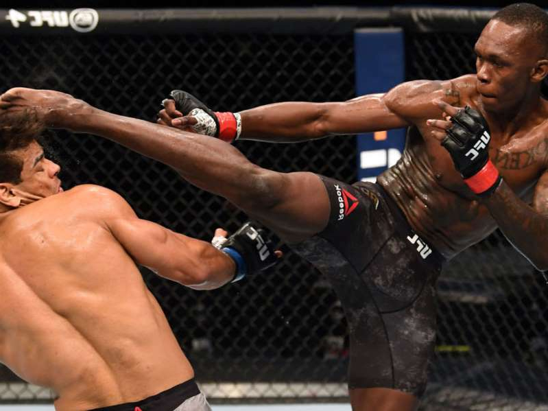Adesanya destroys Costa to retain UFC middleweight belt