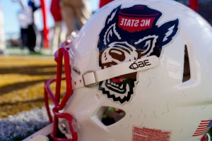 NC State's Martin taken off field in ambulance after suffering hip injury