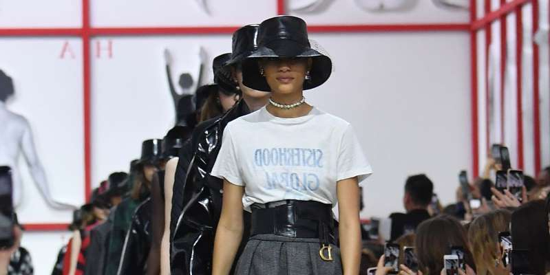 a young boy wearing a hat: Watch the Dior spring/summer 2021 runway show via this livestream. We can't wait to see what Maria Grazia Chiuri has up her sleeves.