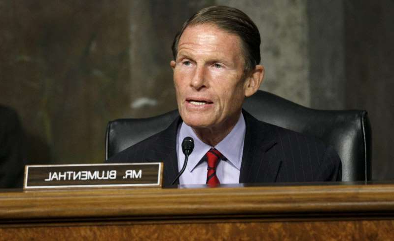 Richard Blumenthal wearing a suit and tie