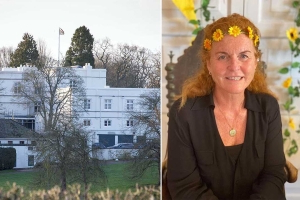 Sarah Ferguson reveals unseen dining room at home with Prince Andrew