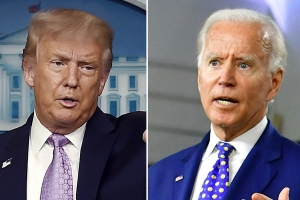 Trump campaign wants to examine Biden's ears for electronic device during debate: report