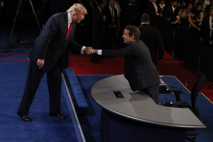 Trump's adversarial relationship with presidential debate moderator Chris Wallace, explained