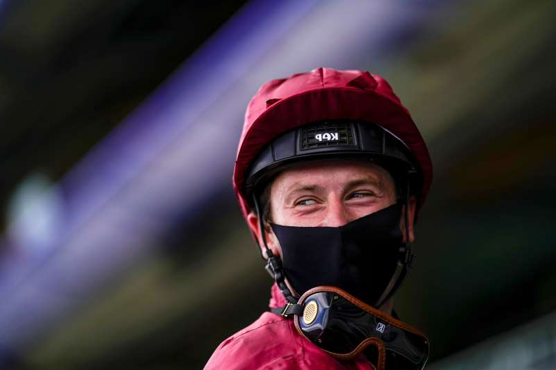 a close up of a person wearing a helmet: Royal Ascot