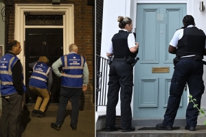 Police will knock on your door twice to check if you're self-isolating