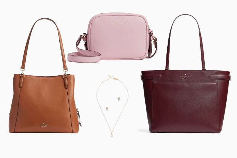 a piece of luggage: Kate Spade