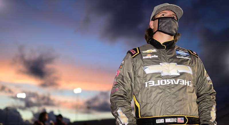 a man wearing a military uniform: Why Sheldon Creeds 'purity' elevates him to Gander Trucks title favorite