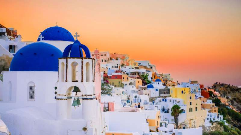 Santorini is one of the Greek islands coming off the quarantine list