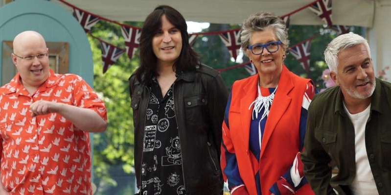Paul Hollywood, Prue Leith, Noel Fielding, Matt Lucas posing for the camera: The Great British Bake Off contestants might need to watch out for a