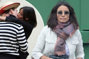 Melanie Sykes steps out in London after fling with gondolier