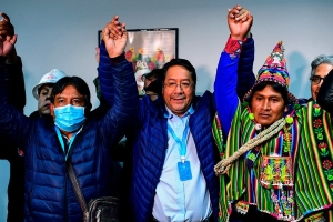 Bolivia's Left Wins Big in New Election