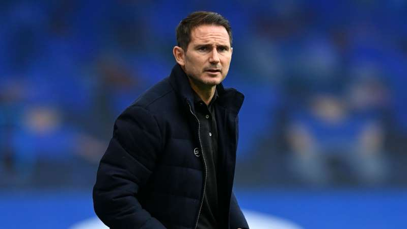 Frank Lampard wearing a suit and tie: Frank Lampard during Chelsea's draw with Southampton