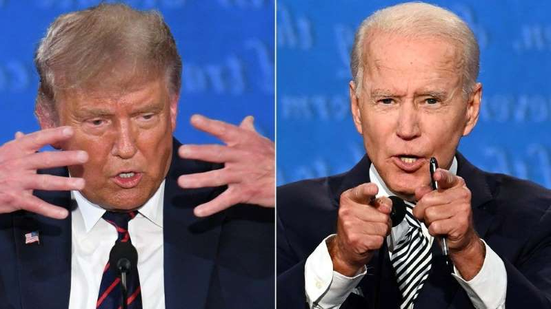 Joe Biden, Donald Trump are posing for a picture: Trump adviser says president will give Biden 'a little bit more room to explain himself' at next debate