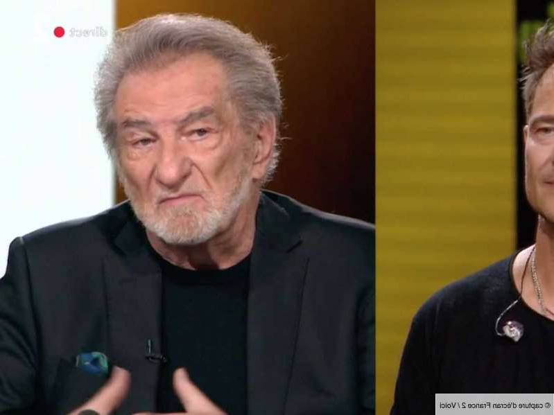 VIDEO Eddy Mitchell : sa phrase lourde de sens face à David Hallyday