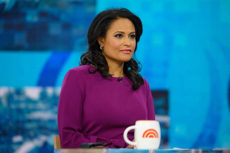 Kristen Welker in a blue shirt: NBC News White House Correspondent Kristen Welker. Nathan Congleton/NBC/NBCU Photo Bank via Getty Images