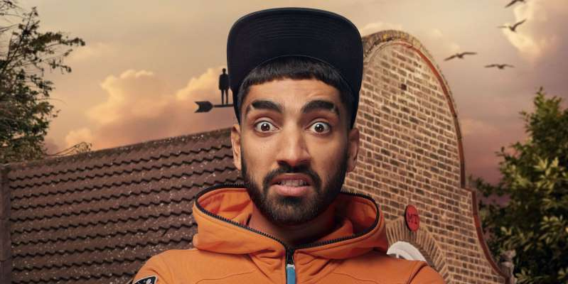 a man wearing a hat: Taskmaster series 10, which airs on Channel 4, came as a surprise to comedian Mawaan Rizwan, who claims he hadn't watched the Alex Horne show before joining.