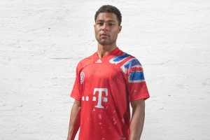 Pharrell Williams designs a special jersey for Bayern