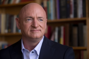 Mark Kelly says it's not him dressed as Adolf Hitler for Halloween in yearbook photo