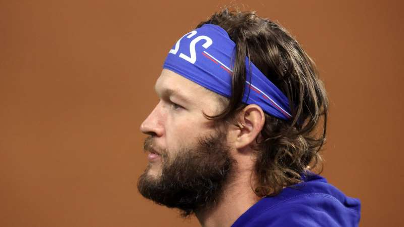 Clayton Kershaw wearing a hat: Tom Pennington/Getty Images