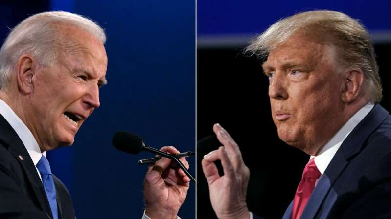 Donald Trump, Joe Biden are posing for a picture: Immigration issues the candidates haven't addressed