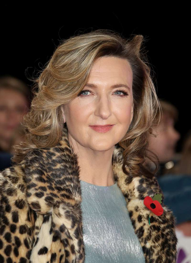 a close up of Victoria Derbyshire