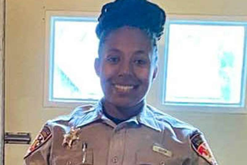 a person posing for the camera: facebook Deputy LaKiya Rouse
