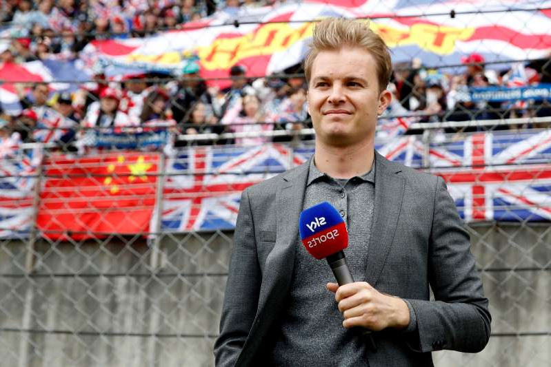 Nico Rosberg standing in front of a crowd: Chinese Grand Prix