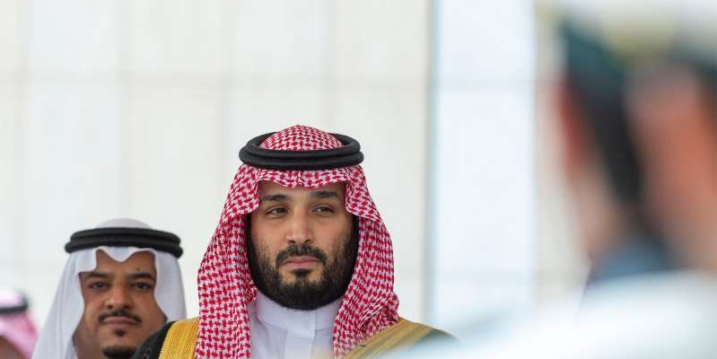 Mohammad Bin Salman Al Saud wearing a hat: Saudi Crown Prince Mohammed bin Salman attends a session of the Shura Council in Riyadh, Saudi Arabia, on November 20, 2019. Bandar Algaloud/Courtesy of Saudi Royal Court/Handout via Reuters
