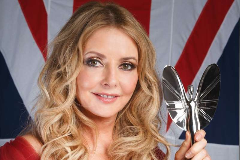a close up of Carol Vorderman: Carol Vorderman opens up on why this year's Pride of Britain Awards
