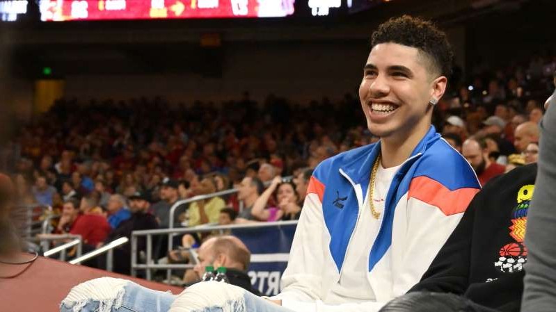 Charles Boozer standing in front of a crowd: LaMelo Ball, UCLA v USC | Jayne Kamin-Oncea/Getty Images