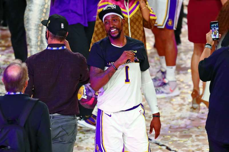 a group of people wearing costumes: Kentavious Caldwell-Pope (1)