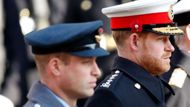 entertainment prince harry s remembrance sunday request denied by royal family pressfrom us pressfrom