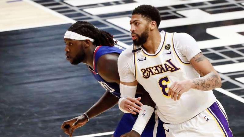Montrezl Harrell's success or failure as a Laker will come down to Anthony Davis