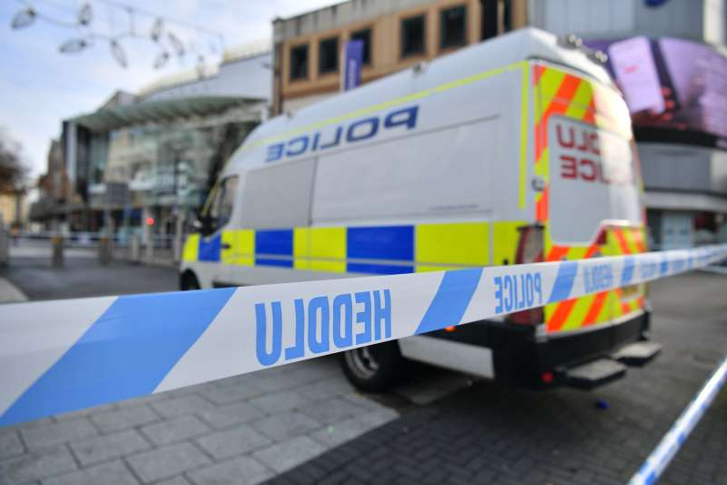 a close up of a toy truck: Six people were injured in a 'large disturbance' in Cardiff city centre (Ben Birchall/PA)