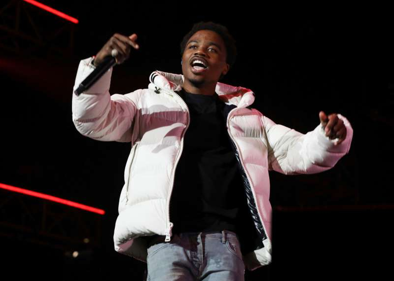 FILE - Roddy Ricch performs at the 7th annual BET Experience in Los Angeles on June 21, 2019. Ricch is nominated for eight American Music Awards. The 2020 American Music Awards will air live on Nov. 22 on ABC. (Photo by Mark Von Holden/Invision/AP, File)